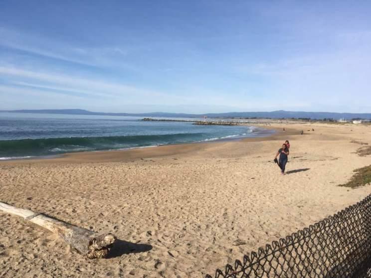 Monterey Bay alongside Phil's Fish Market