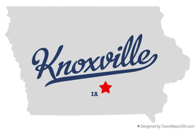 map_of_knoxville_ia